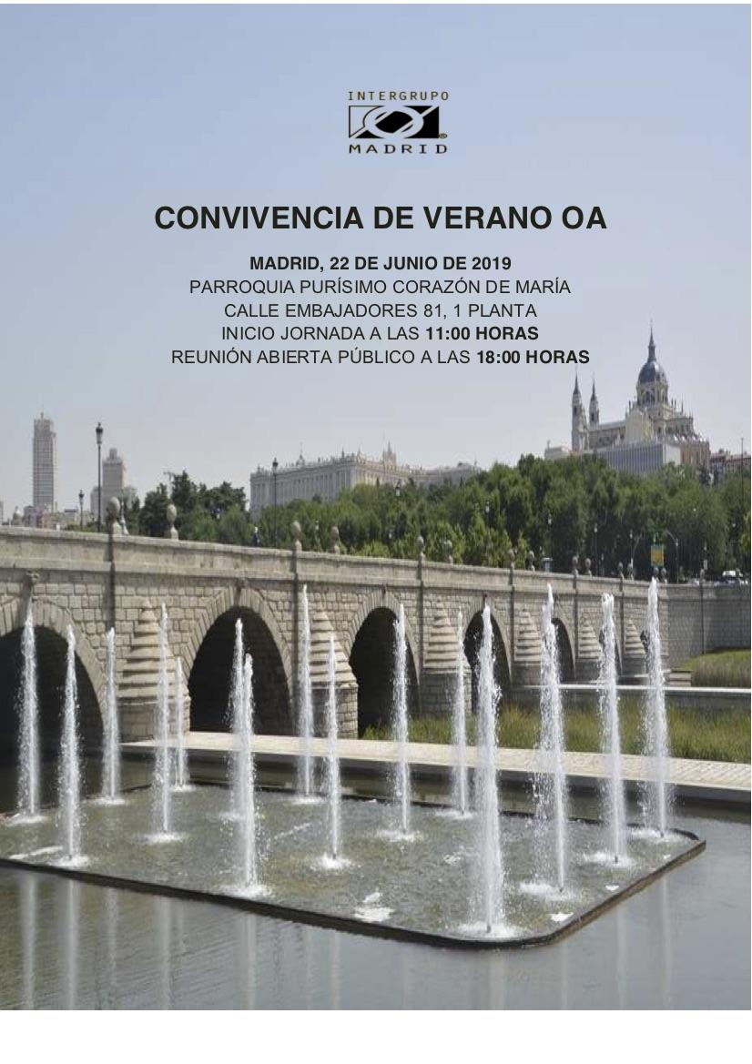 Convivencia de Verano en Madrid | Comedores Compulsivos ...