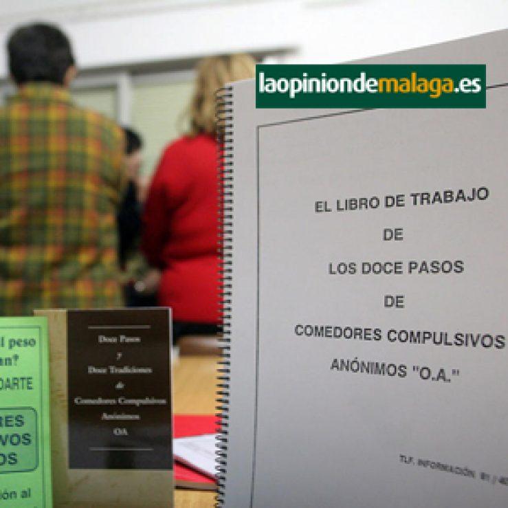 """""""Comedores compulsivos: la alimentación como problema."""" Artículo en la opinión de Málaga"""