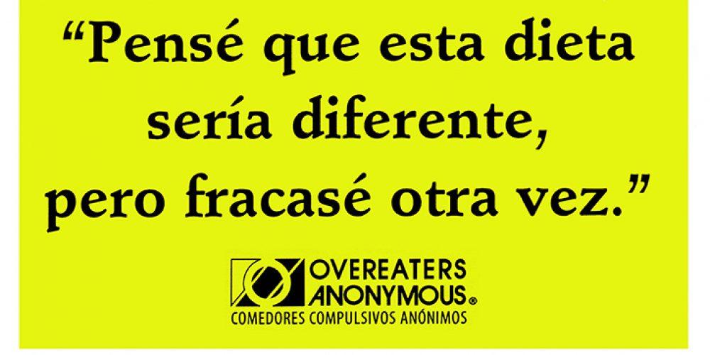 Sobrepeso   Comedores Compulsivos Anónimos, OA   Intergrupo de Madrid