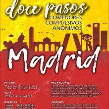 TALLER DE LOS 12 PASOS EN MADRID : 29 A 31 DE MARZO DE 2019
