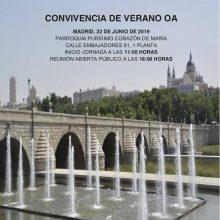 Convivencia de Verano en Madrid