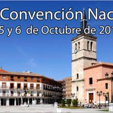 Convención Nacional en Madrid del 4 al 6 de Octubre 2019