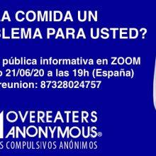 Reunión Informativa Pública el domingo 21 de Junio de 2020 a través de la plataforma virtual Zoom
