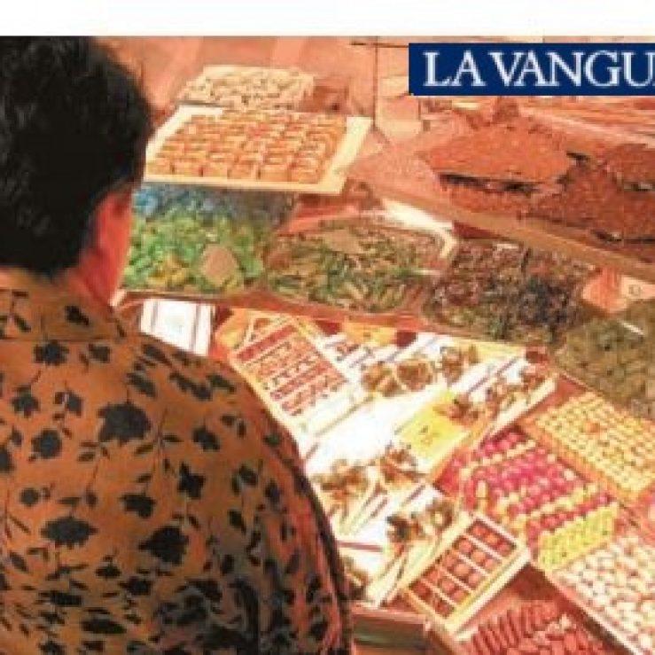 «Yo lloraba sin poder parar de comer» Artículo de La Vanguardia 22/04/2003